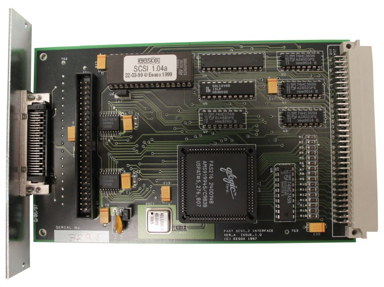 Scan of Document: Eesox Fast SCSI 2 Interface