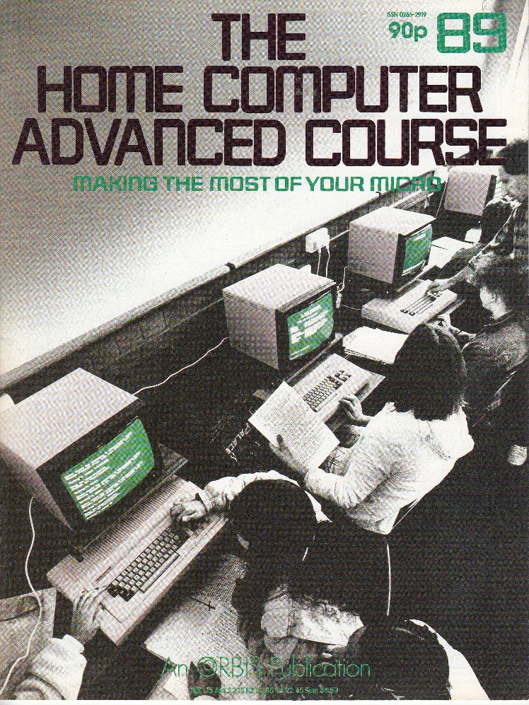 Scan of Document: The Home Computer Advanced Course - Issue 89
