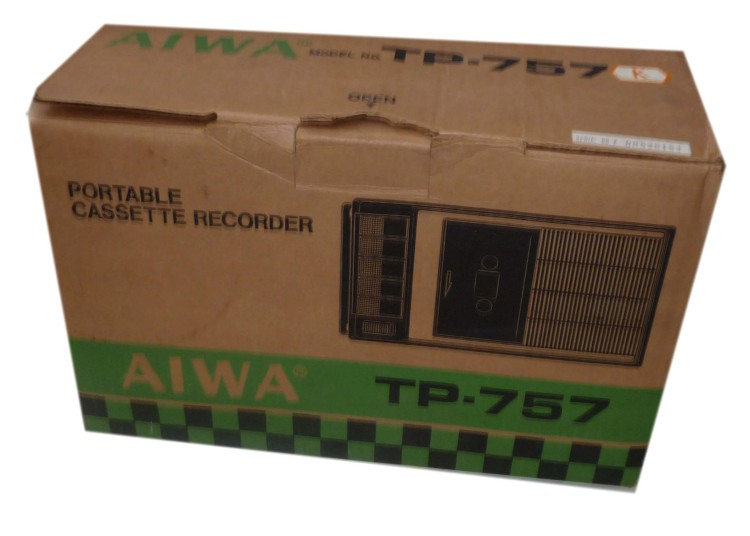 Scan of Document: Aiwa TP-757 Portable Cassette Recorder