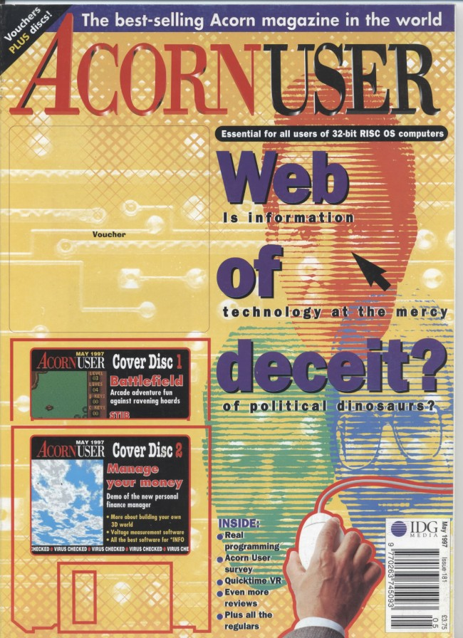 Scan of Document: Acorn User - May 1997