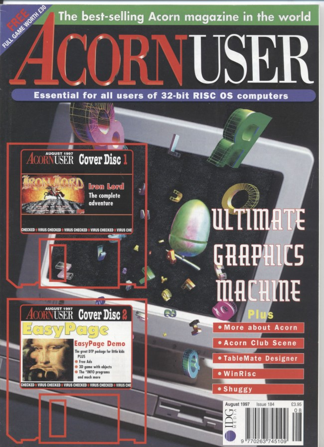 Scan of Document: Acorn User - August 1997