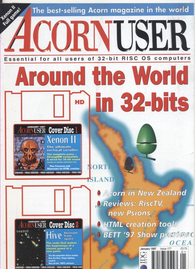 Scan of Document: Acorn User - January 1997