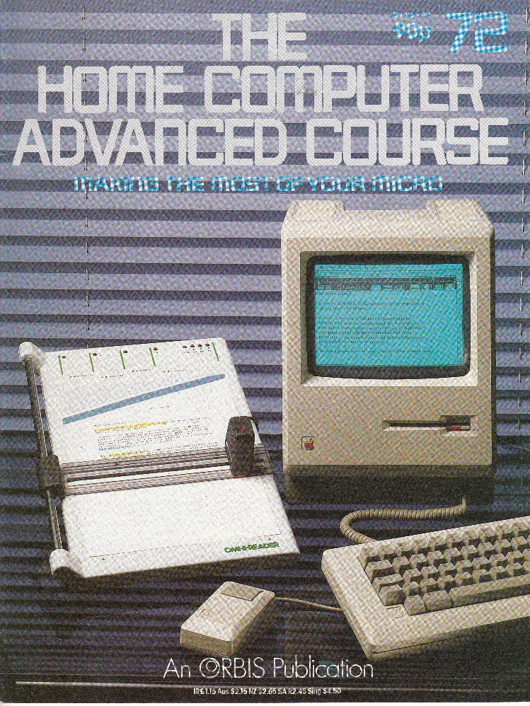 Scan of Document: The Home Computer Advanced Course - Issue 72