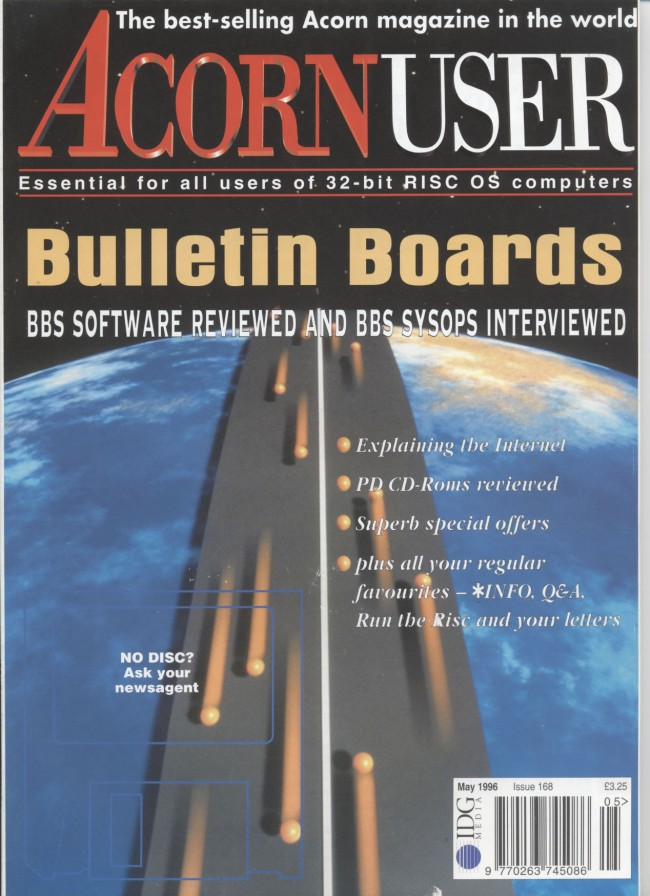 Scan of Document: Acorn User - May 1996