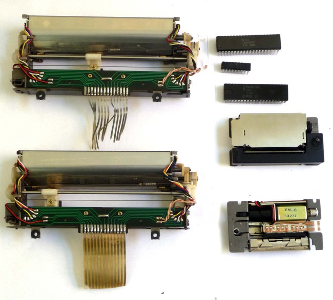 Scan of Document: Microscribe Printer Development Components
