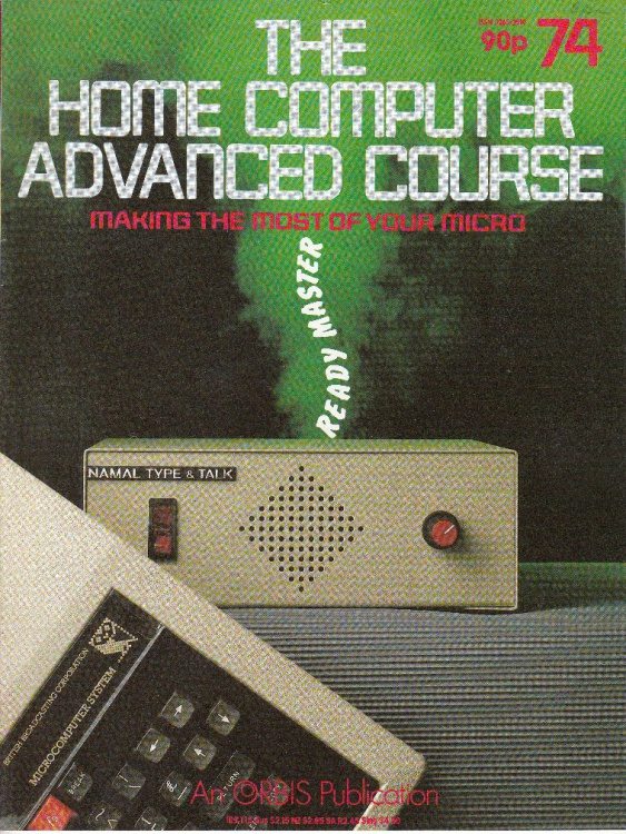 Scan of Document: The Home Computer Advanced Course - Issue 74