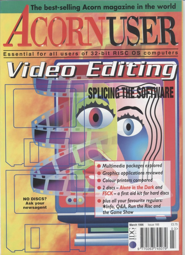 Scan of Document: Acorn User - March 1996