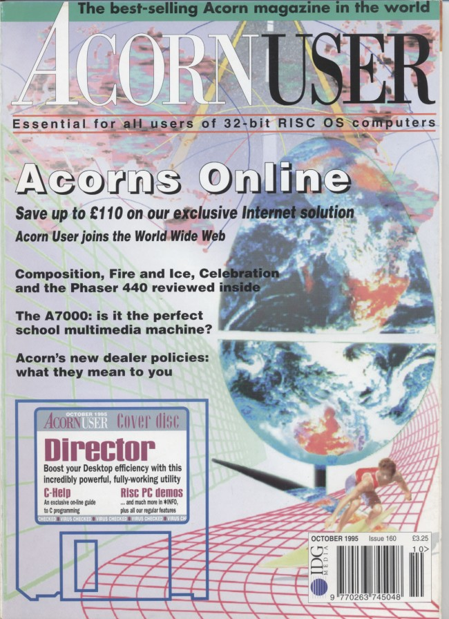 Scan of Document: Acorn User - October 1995