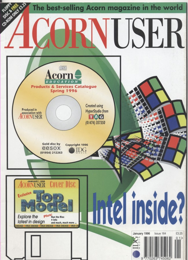 Scan of Document: Acorn User - January 1996