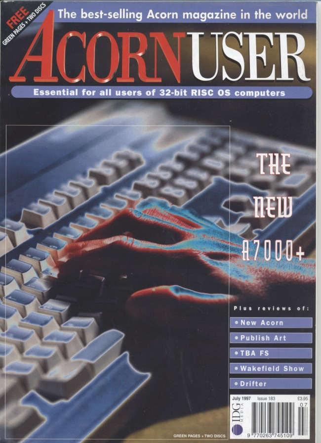 Scan of Document: Acorn User - July 1997