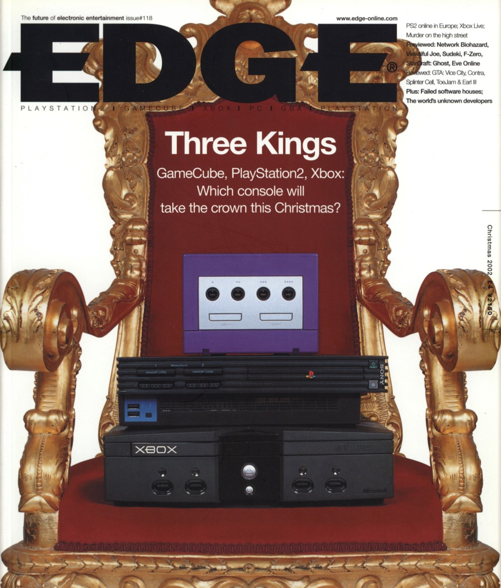 Scan of Document: Edge - Issue 118 - Christmas 2002