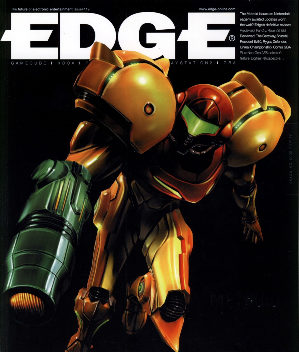 Scan of Document: Edge - Issue 119 - January 2003