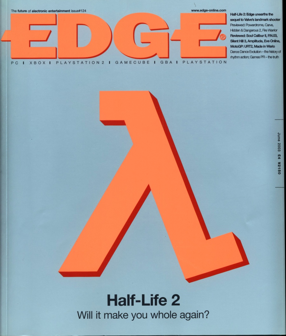 Scan of Document: Edge - Issue 124 - June 2003