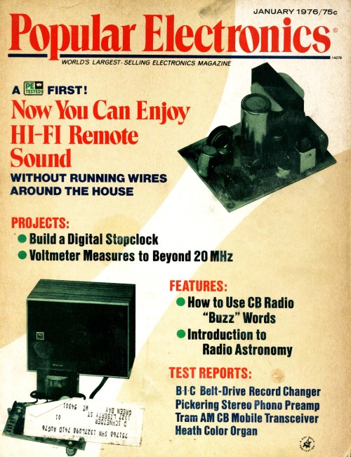 Scan of Document: Popular Electronics - January 1976