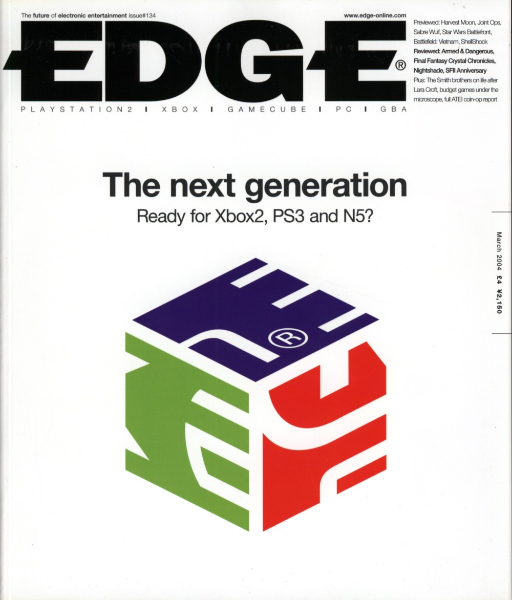 Scan of Document: Edge - Issue 134 - March 2004
