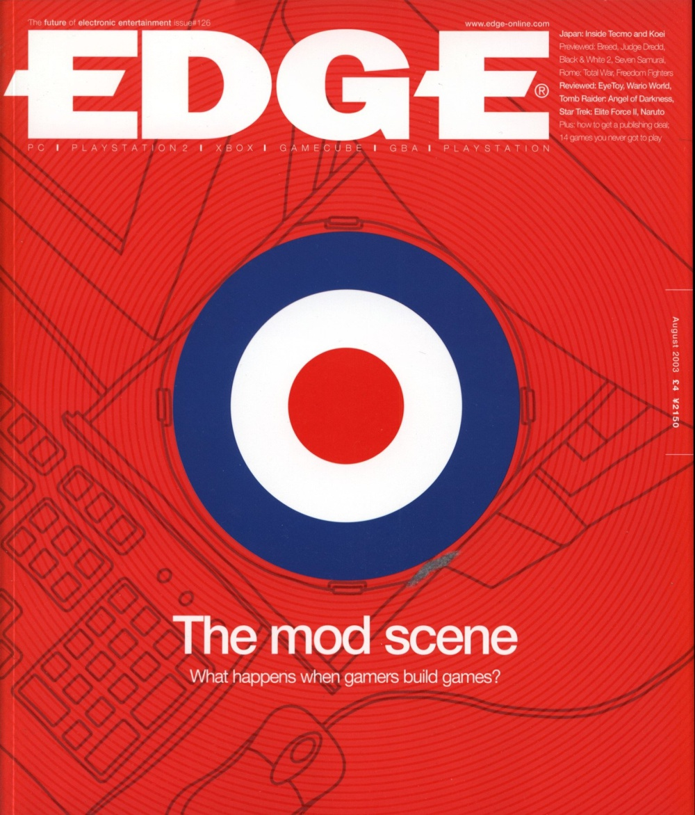 Scan of Document: Edge - Issue 126 -  August 2003