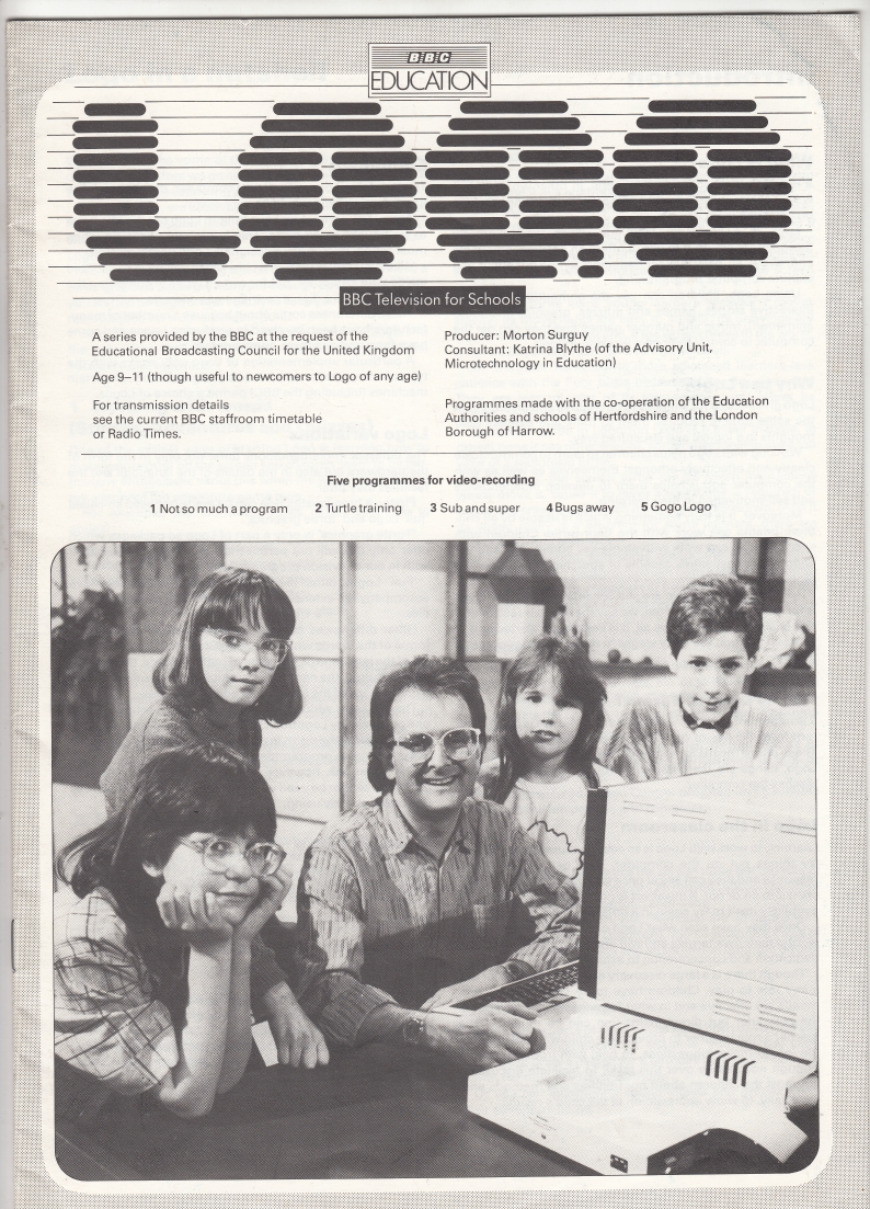 Scan of Document: BBC Education - LOGO - BBC Television for Schools