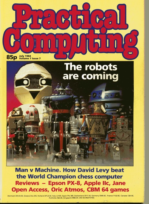 Scan of Document: Practical Computing - July 1984