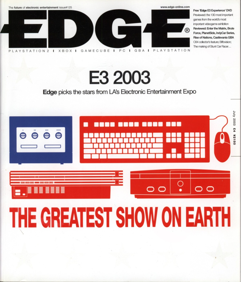 Scan of Document: Edge - Issue 125 - July 2003
