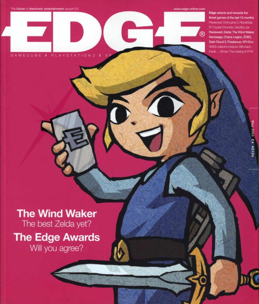 Scan of Document: Edge - Issue 123 - May 2003