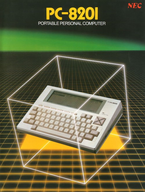 Scan of Document: Sharp PC-8201 Portable Personal Computer