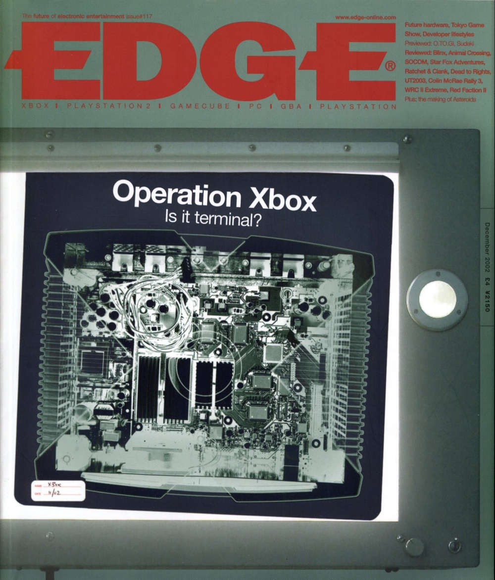 Scan of Document: Edge - Issue 117 - December 2002