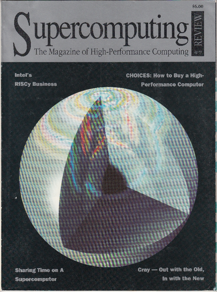 Scan of Document: Supercomputing Review - April 1989