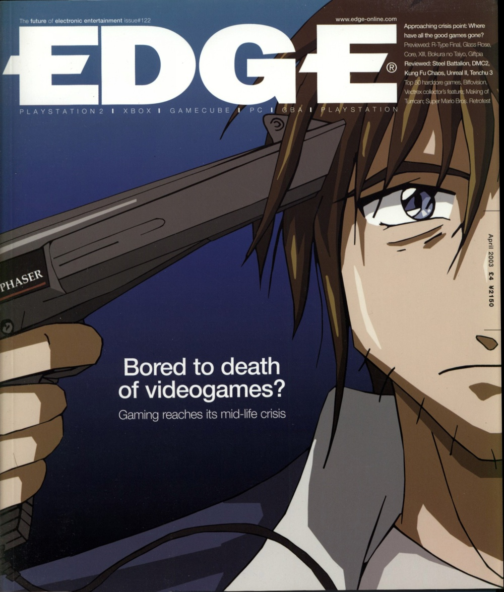 Scan of Document: Edge - Issue 122 - April 2003