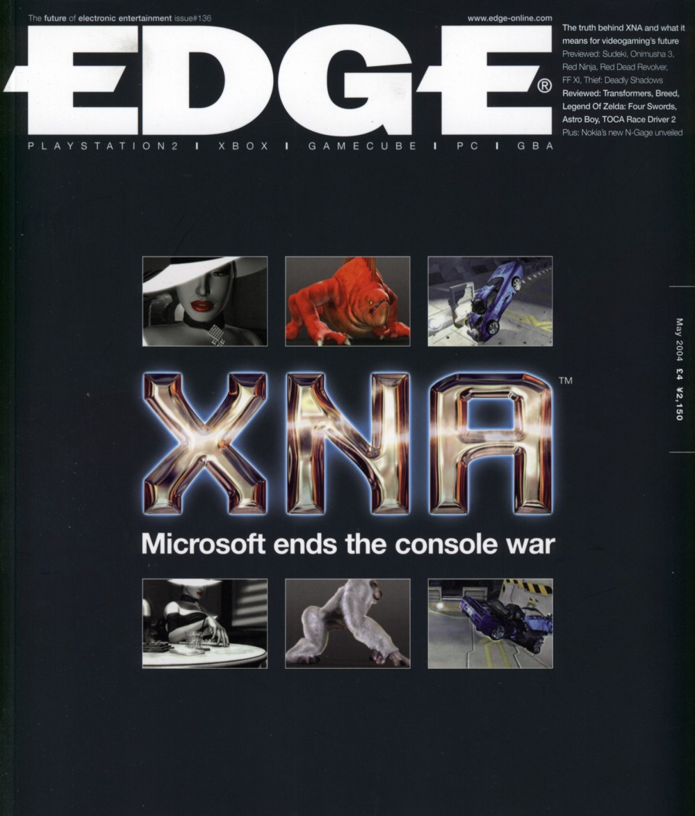Scan of Document: Edge - Issue 136 - May 2004