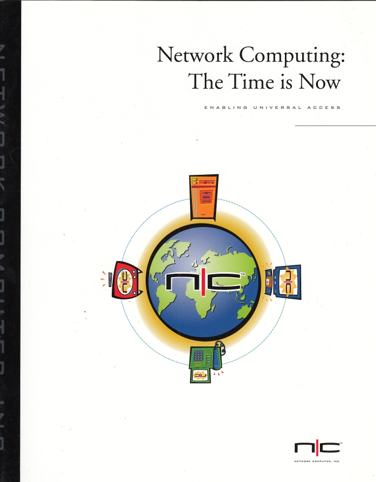 Scan of Document: Network Computing: The Time is Now