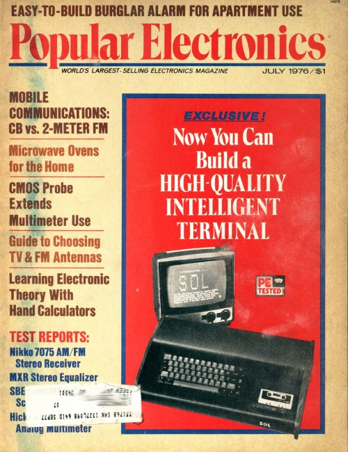 Scan of Document: Popular Electronics - July 1976