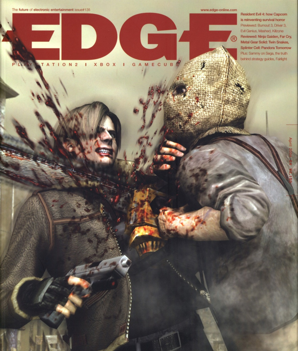 Scan of Document: Edge - Issue 135 - April 2004
