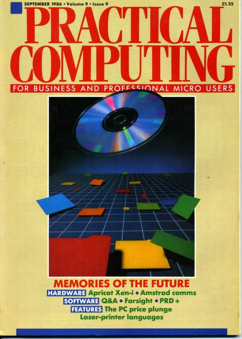 Scan of Document: Practical Computing - September 1986