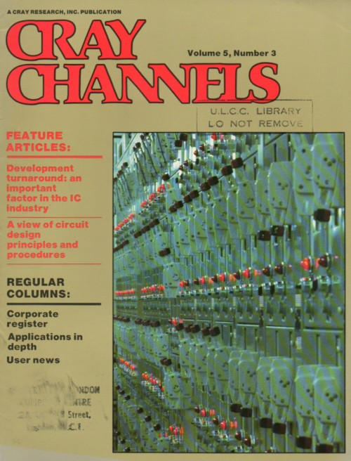 Scan of Document: Cray Channels - Vol 5 No 3