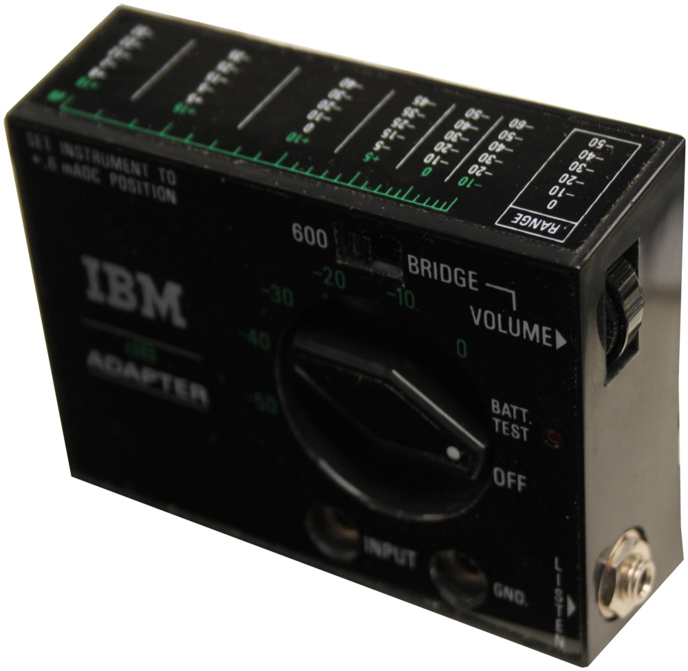 Scan of Document: IBM dB Adapter 1749299