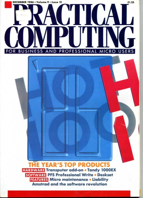 Scan of Document: Practical Computing - December 1986