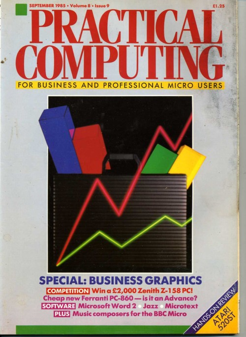 Scan of Document: Practical Computing - September 1985