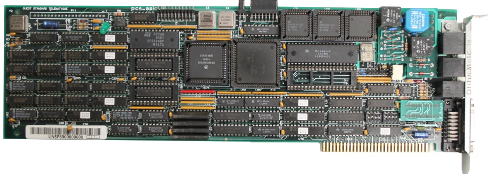 Scan of Document: Quest Standard Telematique ISDN card