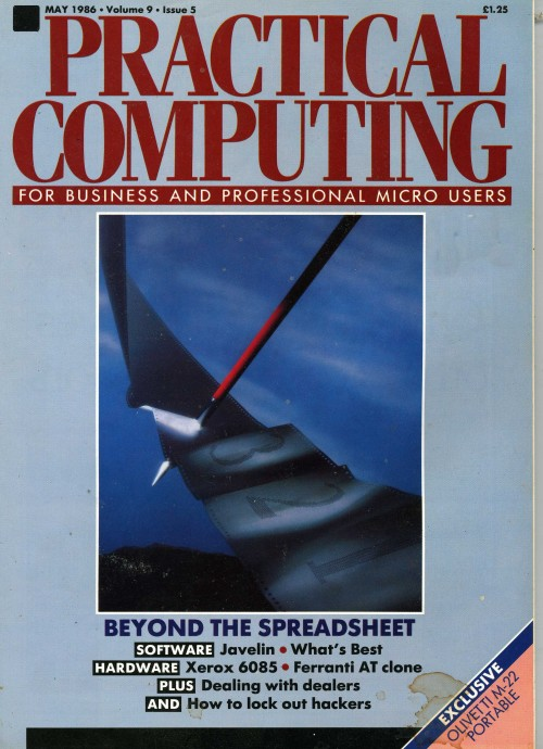 Scan of Document: Practical Computing - May 1986