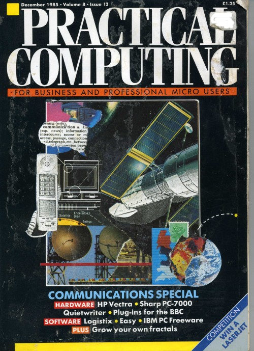 Scan of Document: Practical Computing - December 1985
