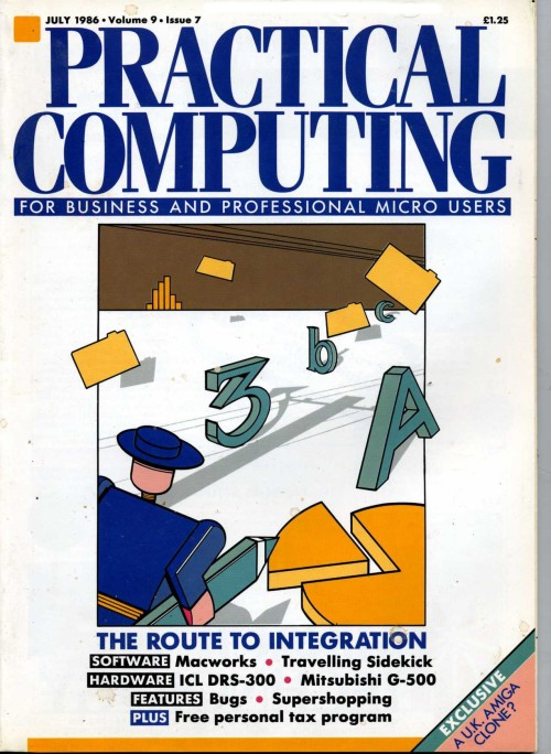Scan of Document: Practical Computing - July 1986