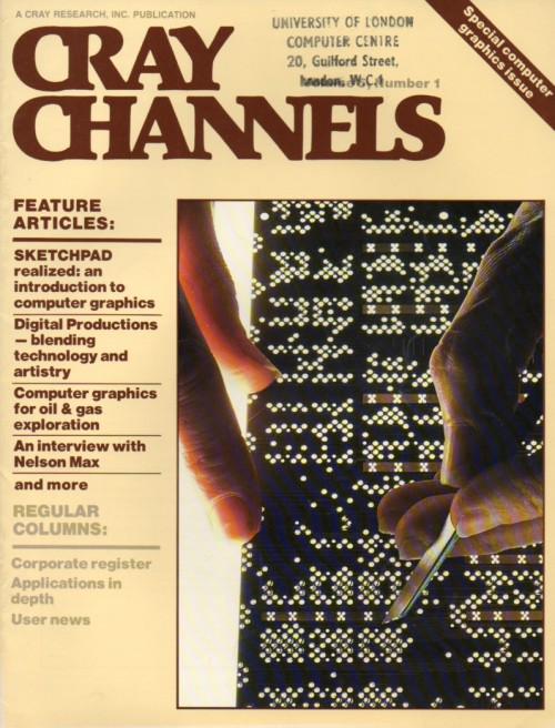 Scan of Document: Cray Channels - Vol 5 No 1