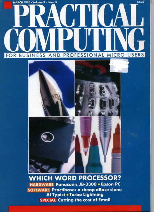 Scan of Document: Practical Computing - March 1986