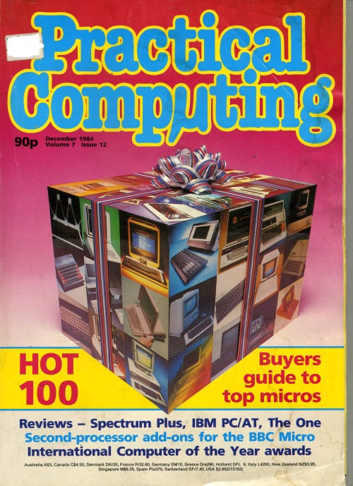 Scan of Document: Practical Computing - December 1984