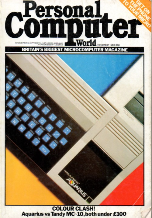 Scan of Document: Personal Computer World - November 1983