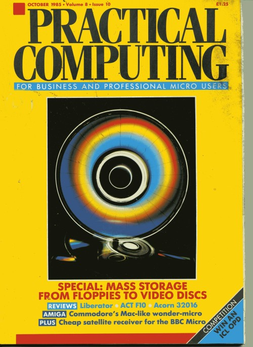 Scan of Document: Practical Computing - October 1985