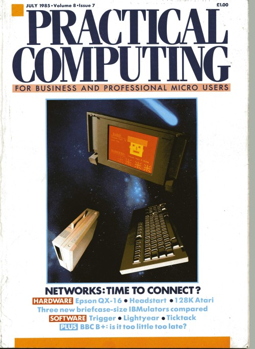 Scan of Document: Practical Computing - July 1985
