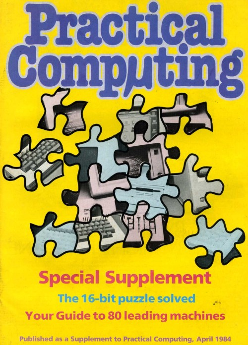 Scan of Document: Special Supplement Practical Computing - April 1984
