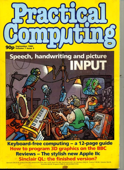 Scan of Document: Practical Computing - September 1984