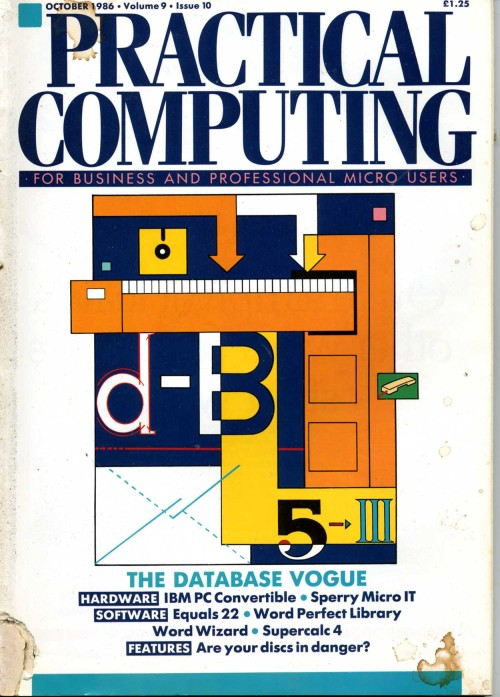 Scan of Document: Practical Computing - October 1986
